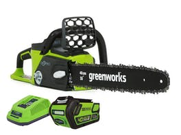 """GreenWorks Chainsaw G-MAX 40V Brushless 16"""" 4.0Ah Kit"""