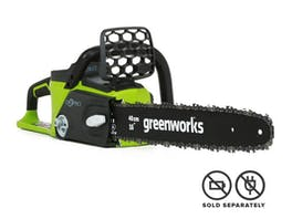 """GreenWorks Chainsaw G-MAX 40V Brushless with 16"""" Bar"""
