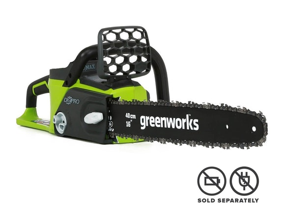 "GreenWorks Chainsaw G-MAX 40V Brushless with 16"" Bar"