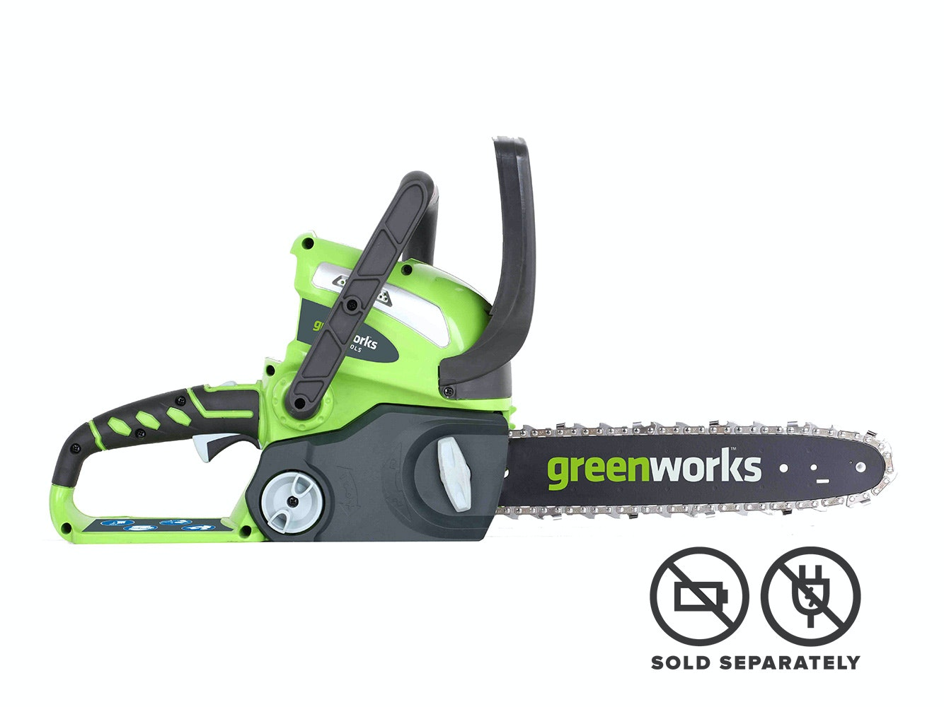GreenWorks Chainsaw G-MAX 40V Li-Ion with 12