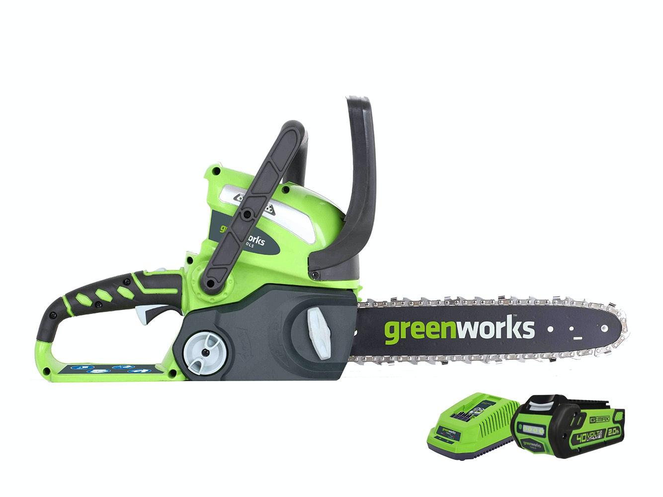 GreenWorks Chainsaw G-MAX 40V Li-Ion 12