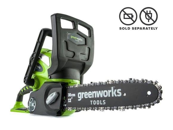 "GreenWorks Chainsaw G-MAX 40V Li-Ion with 12"" Bar"