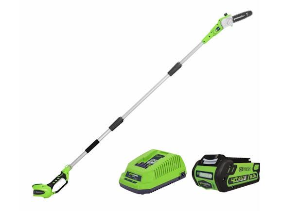 GreenWorks Pole Saw G-MAX 40V Li-Ion 2.0Ah Kit