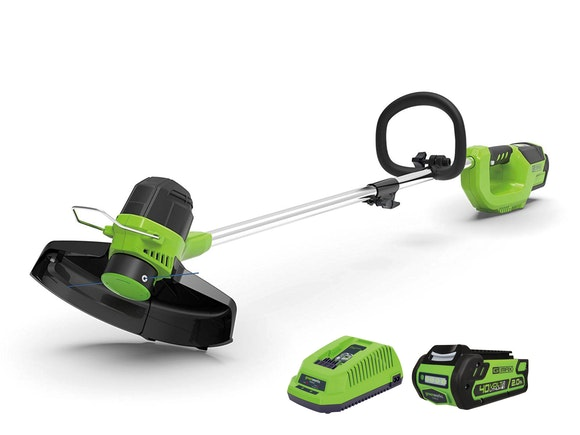GreenWorks Line Trimmer G-MAX 40V Li-Ion 2.0Ah Kit
