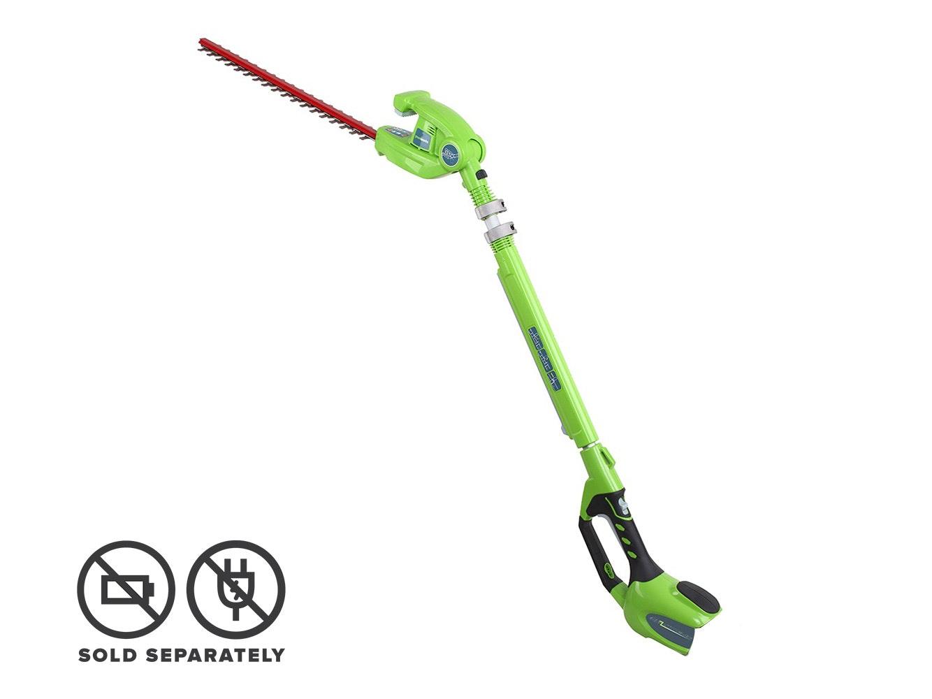GreenWorks Long Reach Hedge Trimmer G-MAX 40V Li-Ion