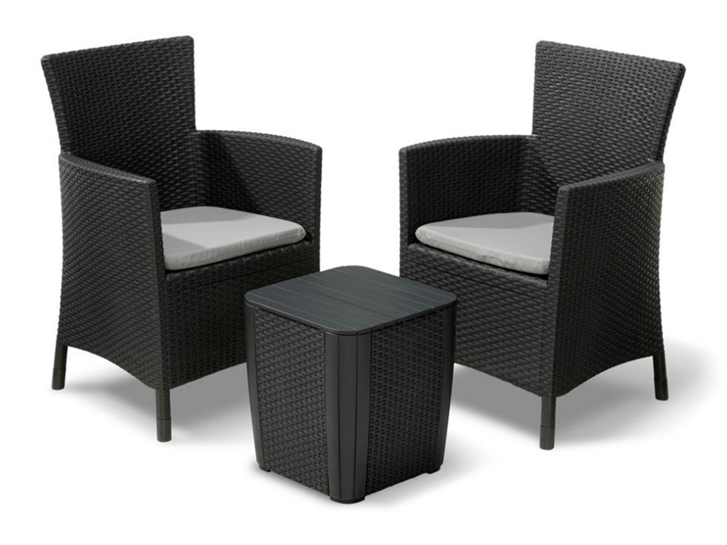 Keter iowa balcony set lounge sets outdoor furniture home outdoor living trade tested