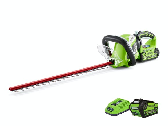 GreenWorks Hedge Trimmer G-MAX 40V Li-Ion 2.0Ah Kit