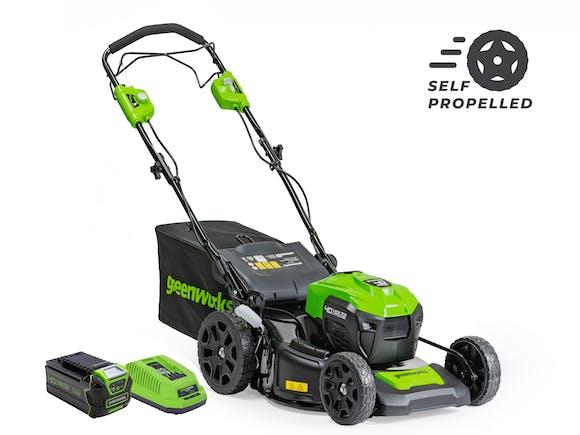 GreenWorks Lawnmower 40V 530mm Self-Propelled 5.0Ah Kit