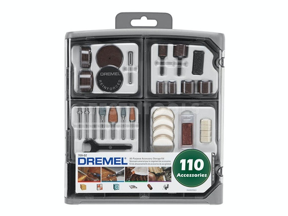 Dremel Accessory Kit 110 Piece