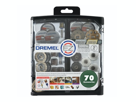 Dremel EZ Lock All Purpose Accessory Kit 70 Piece