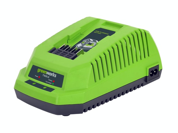 GreenWorks G-MAX 40V Li-Ion Battery Charger