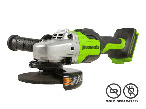 Greenworks 24V Angle Grinder Brushless 100mm Skin