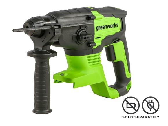 Greenworks 24V Rotary Hammer Drill Brushless Skin