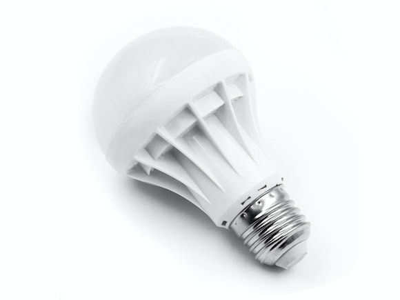 LED Light Bulb E27 5W Warm White