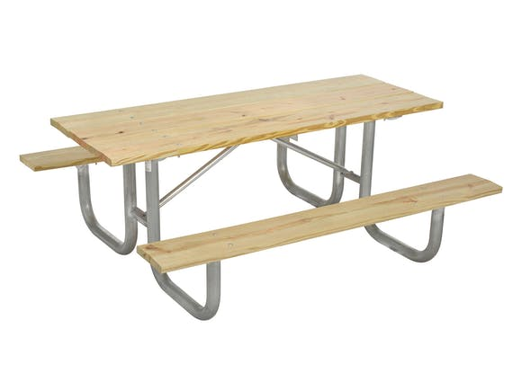 Picnic Table 6 Seater - Wooden
