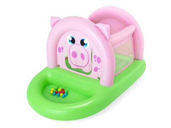 Bestway Up, In & Over Oinkster Bouncer & Ball Pit 2.4m