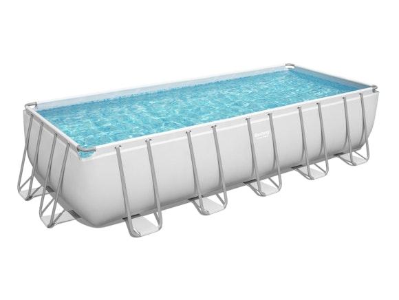 Bestway Power Steel Rectangle Pool Set 6.40m x 2.74m x 1.30m