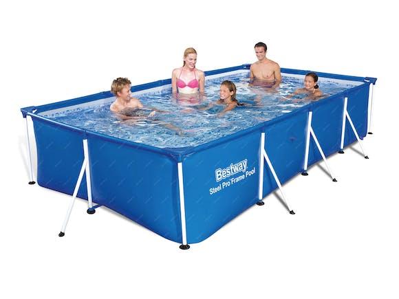 Bestway Family Splash Steel Frame Pool Set 4.0m x 2.11m x 0.81m