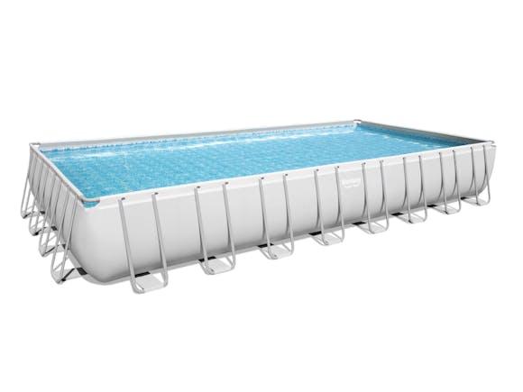 Bestway Power Steel Rectangle Pool Set 9.56m x 4.88m x 1.32m