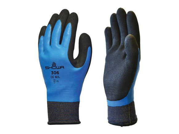 Showa 306 Latex Gloves Full Coat