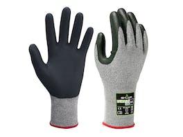 Showa 386 Duracoil Microporous Gloves Nitrile Finger