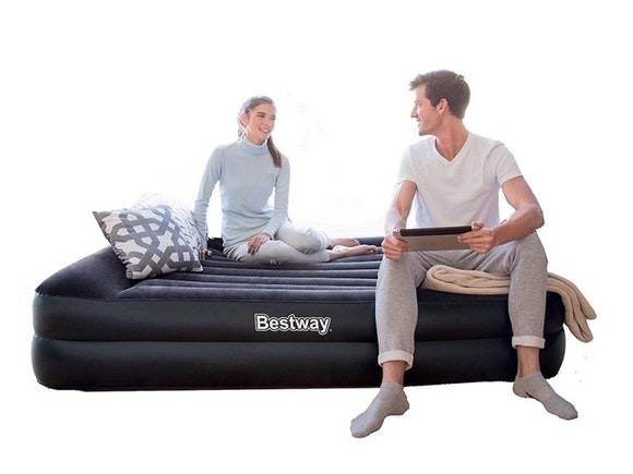 Bestway Air Bed Premium+ Queen with Built-In Pump