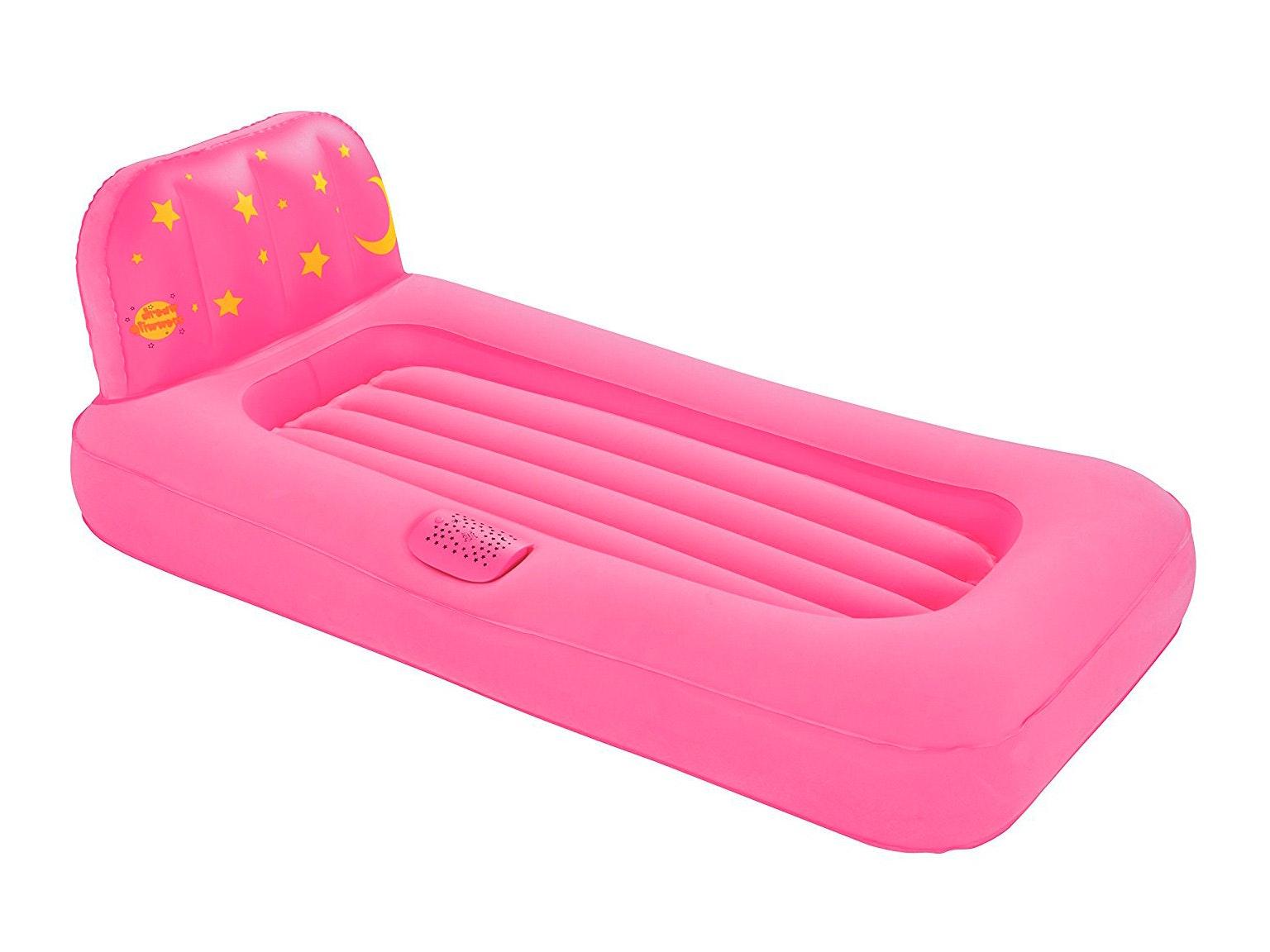 Bestway Dream Glimmers Kids Air Bed Pink