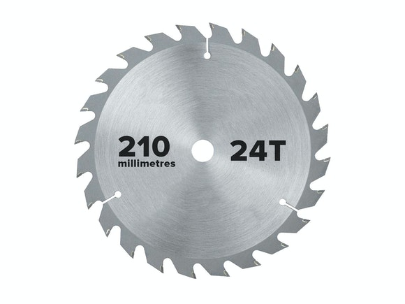 Flash Saw Blade Circular 210mm x 25.4mm