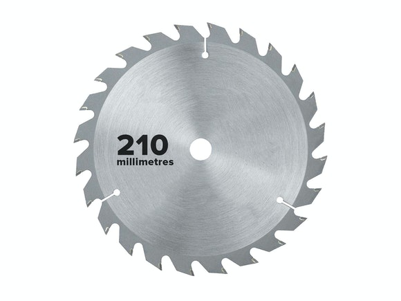 Flash Saw Blade Circular 210mm x 25.4mm