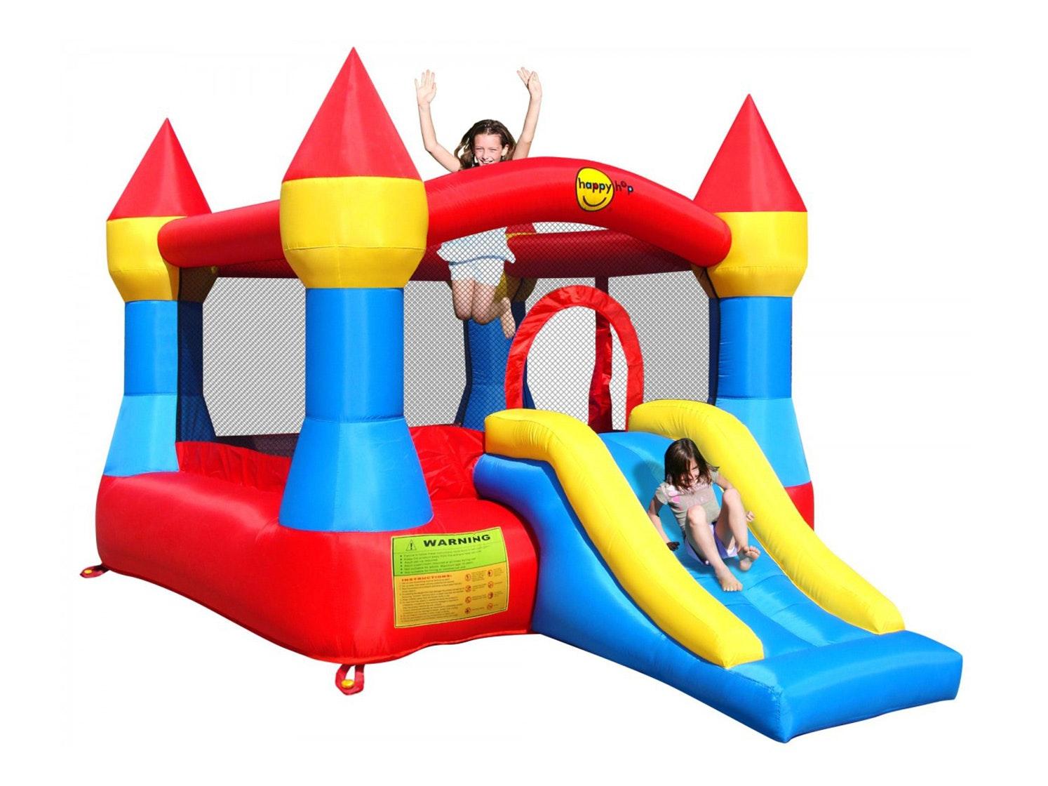 Happy Hop Bounce N Slide Bouncy Castle