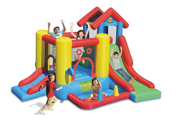 Happy Hop 7in1 Play House Bouncy Castle