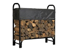 Firewood Rack 1.2m with Cover