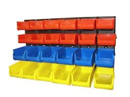 Parts Organiser Wall Rack 24 Bin