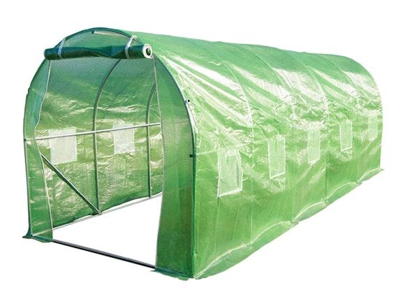 Evergreen Tunnel House Greenhouse 2m x 5m