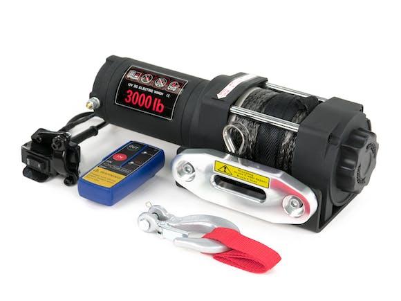 Electric Winch 12V 3000lb with Fairlead & Remote