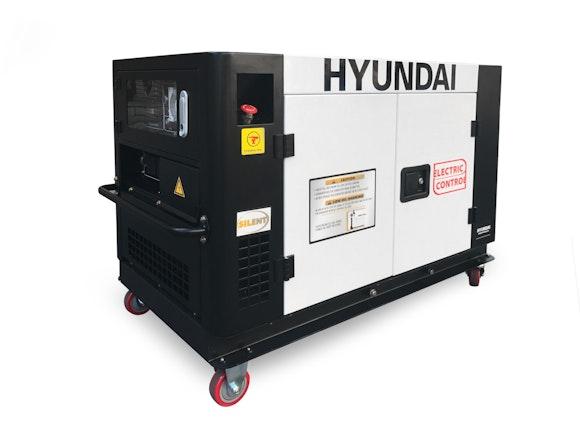 Hyundai Diesel Silent Generator 9500W 3 Phase