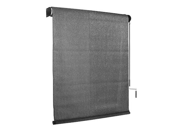 Outdoor Sun Screen Roller Blind 183 x 244cm