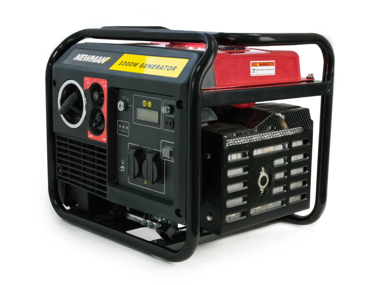 Newman Digital Inverter Generator 3300W with Electric Start