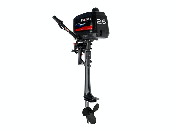 Endumax 2.6HP Outboard Two-Stroke Short Shaft