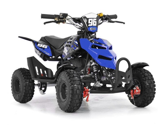 Kids Mini Quad Bike 49cc Blue