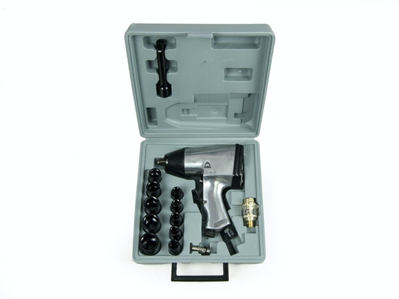 "Air Impact Wrench 1/2"" Kit 17 Piece"