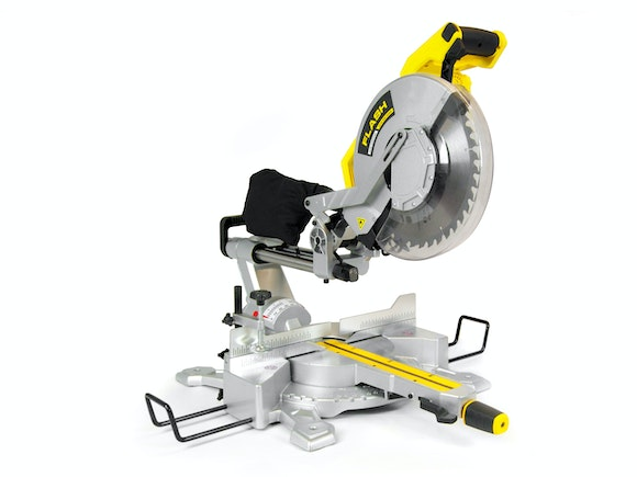 Flash Slide Compound Mitre Saw 305mm Double Bevel 1800W