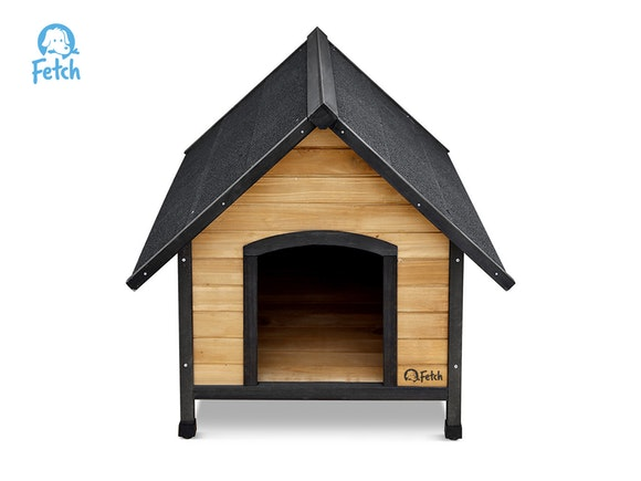 Fetch Wooden Dog Kennel