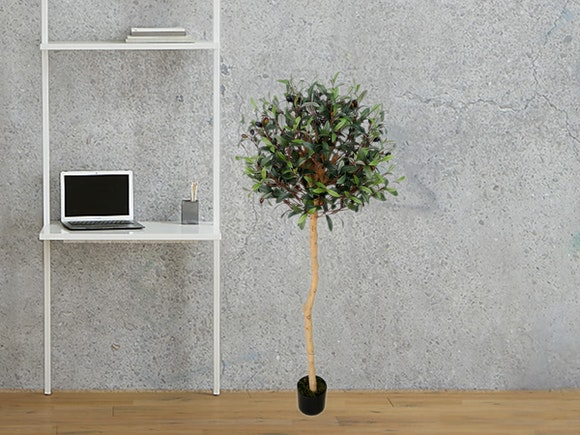 Artificial Tree Olive Topiary 150cm