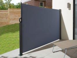 Retractable Side Screen 1.8m x 3m Graphite