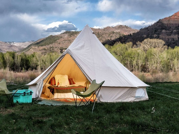 Glamping Bell Tent 5m Pro