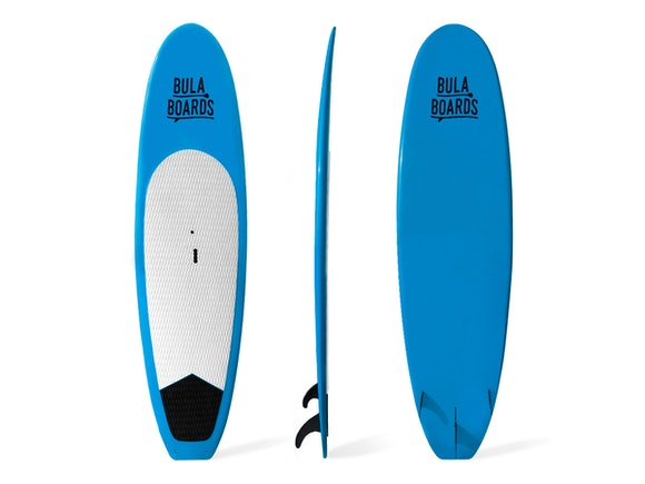 "Bula Boards Stand Up Paddle Board 10'6"" All-Rounder Blue"