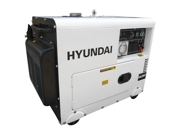 Hyundai Diesel Silent Generator 5500W