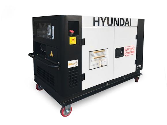 Hyundai Diesel Silent Generator 9500W