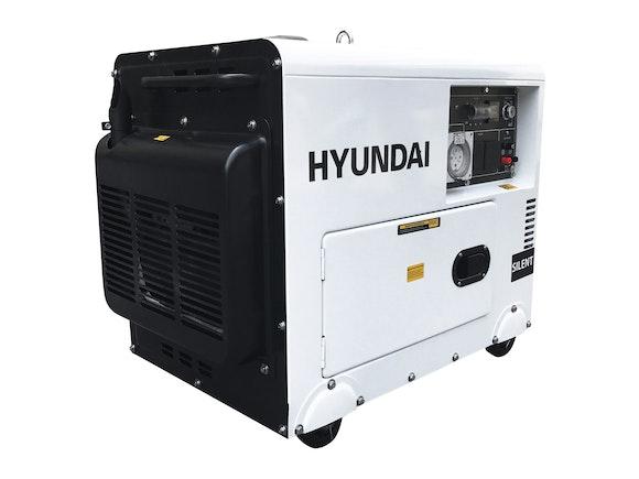 Hyundai Diesel Silent Generator 5500W 3 Phase